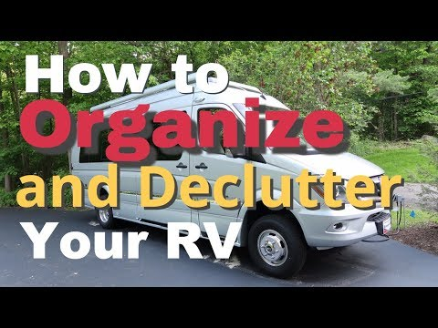 How to Organize and Declutter Your RV while Camping