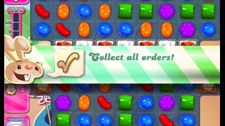 candy crush saga level 1601 walkthrough no boosters