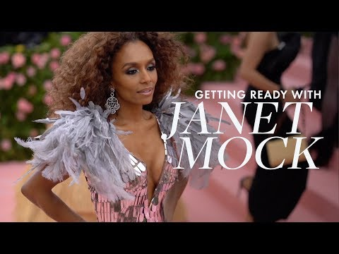 Janet Mock Gets Ready for the 2019 #MetGala with ELLE