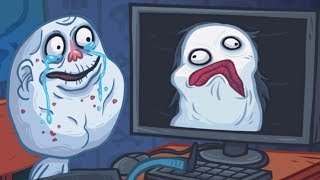Trollface Quest Horror Internet Memes -  All Fails/win All Levels Funny Trolling Walkthrough!