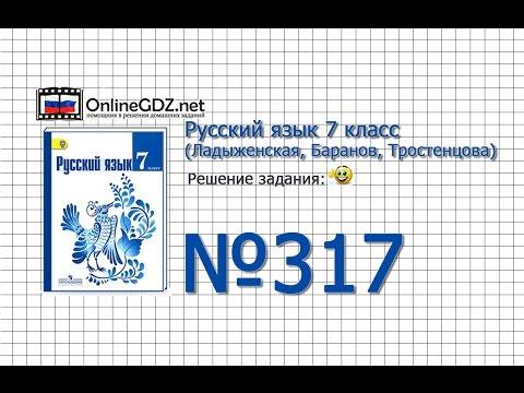 Русский язык. 7 класс. Глагольные формы. Причастие