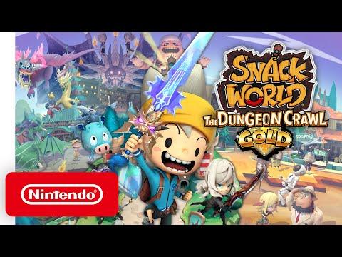 Snack World: The Dungeon Crawl - Gold выходит на Nintendo Switch