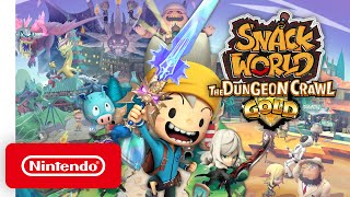 SNACK WORLD: The Dungeon Crawl - Gold - Overview Trailer - Nintendo Switch
