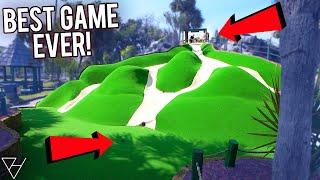 Elisha's Best Mini Golf Game Ever! - So Many Holes In One!