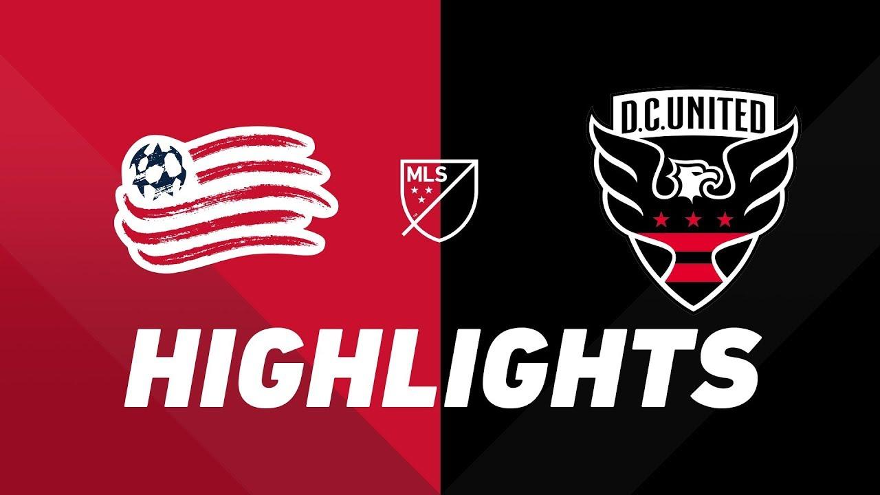 New England Revolution vs. D.C. United | HIGHLIGHTS - May 25, 2019