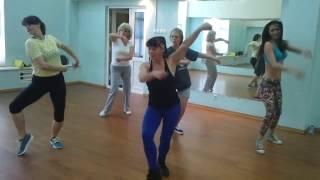 Стриппластика  Урок 2014 г . Хореограф Ольга Афтайкина, 52 года.