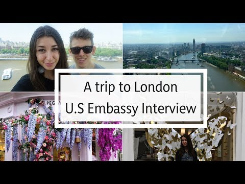 A Trip To London | U.S. Embassy Appointment | VLOG