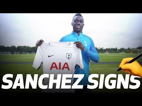 DAVINSON SANCHEZ SIGNS FOR SPURS