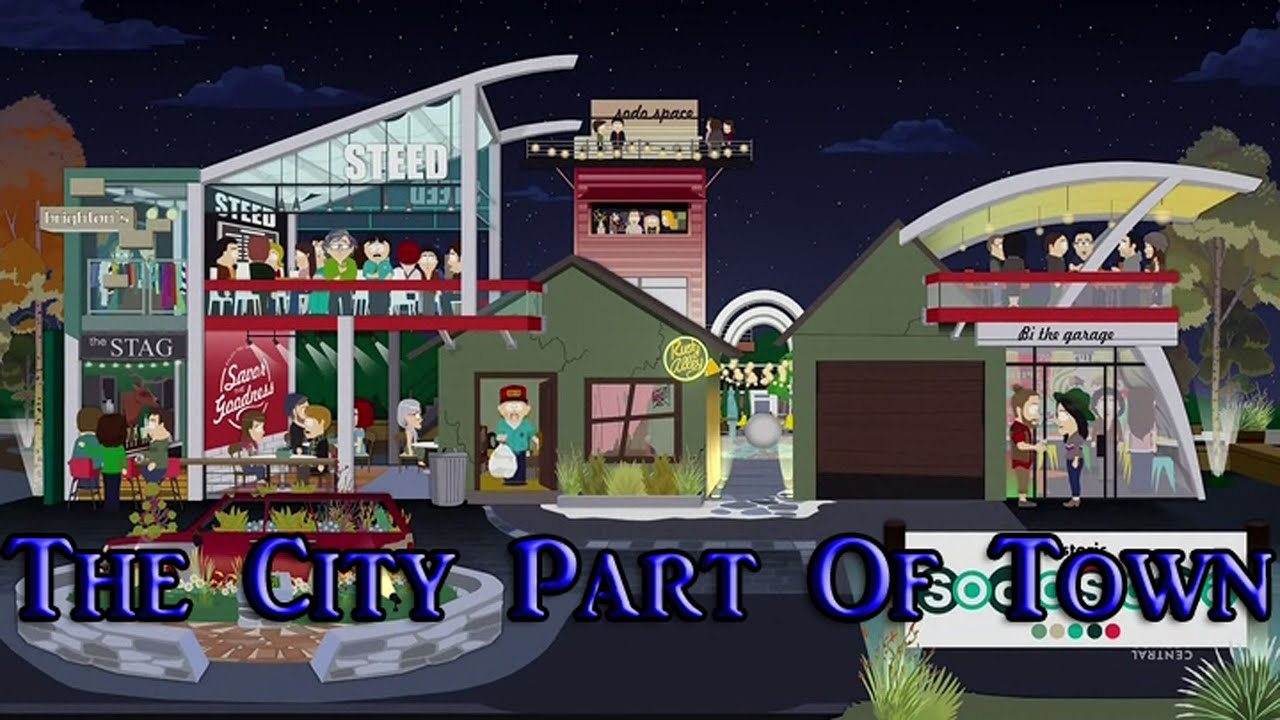 south park s19e3 the city part of town review youtube. Black Bedroom Furniture Sets. Home Design Ideas