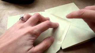 Papercraft Star - Envelope Mini Album Tutorial