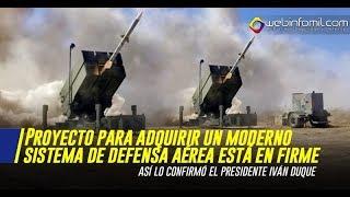 Proyecto colombiano para adquirir un moderno sistema de defensa aérea está en firme