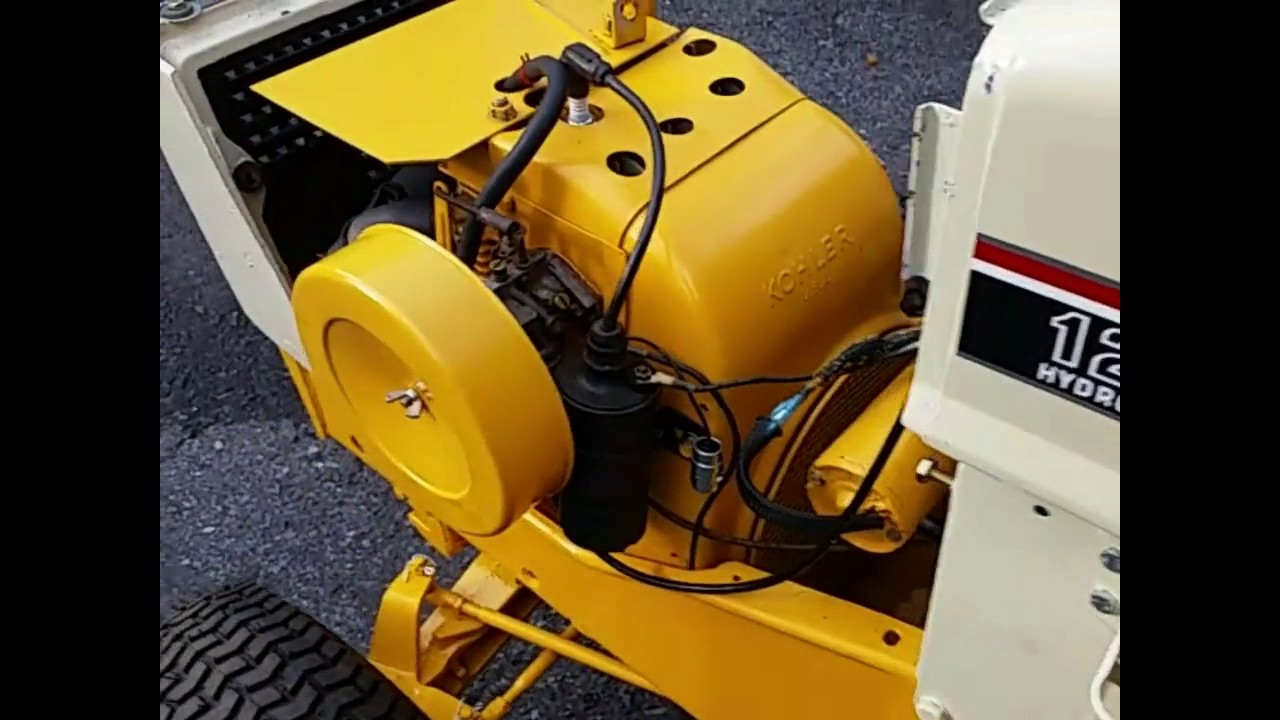 Cub 129 Electric Clutch Conversion Demo Video 1 of 2