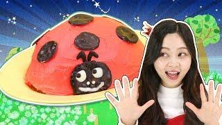 可愛又好吃的七星瓢蟲蛋糕DIY! 小伶玩具 | Xiaoling toys