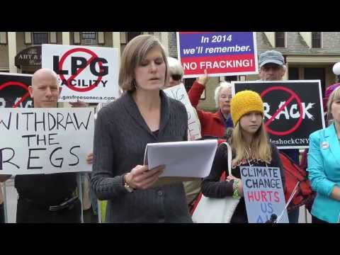 Syracuse Frackdown: Rally Against Fracking Infrastructure at DEC Meeting