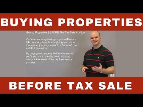 Buying Properties BEFORE Tax Deed Sale