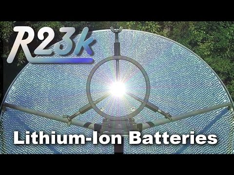 R23k Solar Death Ray vs Lithium Batteries | Smoke and Mirrors Episode 1
