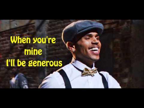 Fine China- Chris Brown (Lyrics & Free Download)