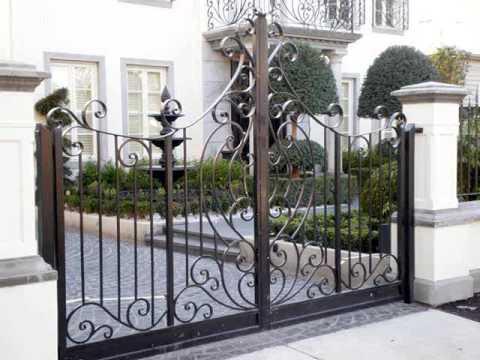 Wrought Iron Gate Design Ideas | Wrought Iron Gates
