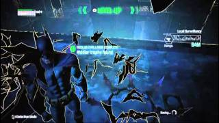 Batman Arkham City- Riddler TrophiesPark Row Part 1