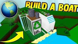 PURE EARTH FACILITY!! **MUST SEE**   Build a boat for Treasure ROBLOX