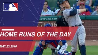 Home Runs of the Day: May 23, 2018