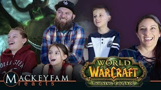 World of Warcraft: The Burning Crusade Cinematic Trailer- REACTION and REVIEW!!!