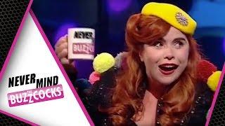 Paloma Faith Stone Cold Sober Serenade   Noel Fielding, James Corden Never Mind The Buzzcocks