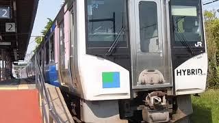 HB-E210系 緑快速仙台行 高城町駅発車