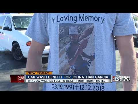 Car wash benefit for Jonathan Garcia