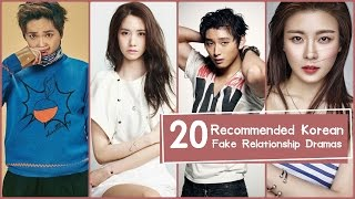 Video 20 Recommended Korean Fake Relationship Dramas download MP3, 3GP, MP4, WEBM, AVI, FLV April 2018