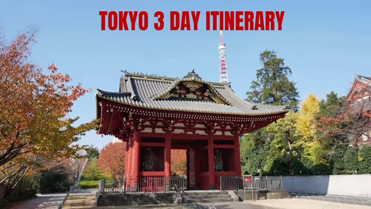 Tokyo 3 Day Itinerary | Top Things to Do in Tokyo Japan