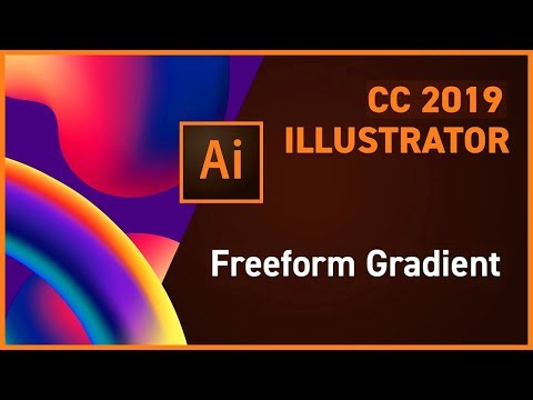 ILLUSTRATOR TUTORIAL Class 2 | ADVANCE GRADIENTS | MULTIMEDIA GURU | URDU/HINDI thumbnail