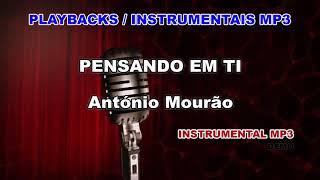♬ Playback / Instrumental Mp3 - PENSANDO EM TI - António Mourão