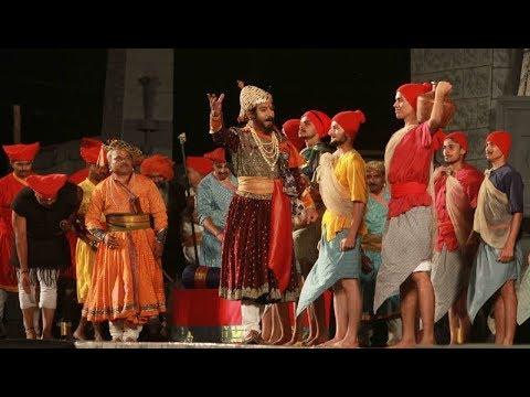 Curtains down in Delhi for epic drama 'Raja Shivchhatrapati'