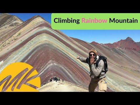 CLIMBING RAINBOW MOUNTAIN IN PERU - (Episode 1)