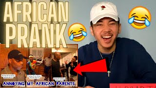 Annoying My African Parents PRANK! ???? (TikTok Compilation) AMERICAN REACTION! *FUNNY! ????????*