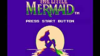 The Little Mermaid (NES) Music - Sea of Coral