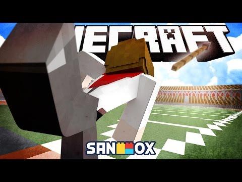 31미터를 던지면 도스킨라빈스를 쏜다!? [창던지기 세계선수권 대회: 마인크래프트] Minecraft - Wooloogames - [도티]