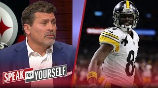 Mark Schlereth weighs in on Antonio Brown's trade request from Steelers | NFL | SPEAK FOR YOURSELF