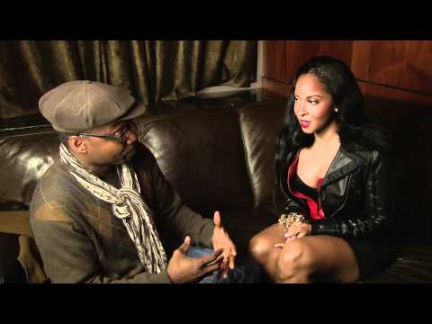 Eddie Kayne Interviews Mz Sasha of BOA at the Big G Video Shoot at Love Nightclub NW DC  12 8 11