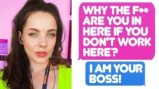 r/IDOWorkHereLady - The New Manager Really Don't Know I'm His Boss!