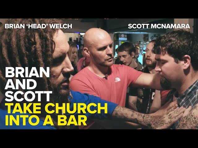 Taking Church into a Bar - an exclusive excerpt from Finger Of God 2
