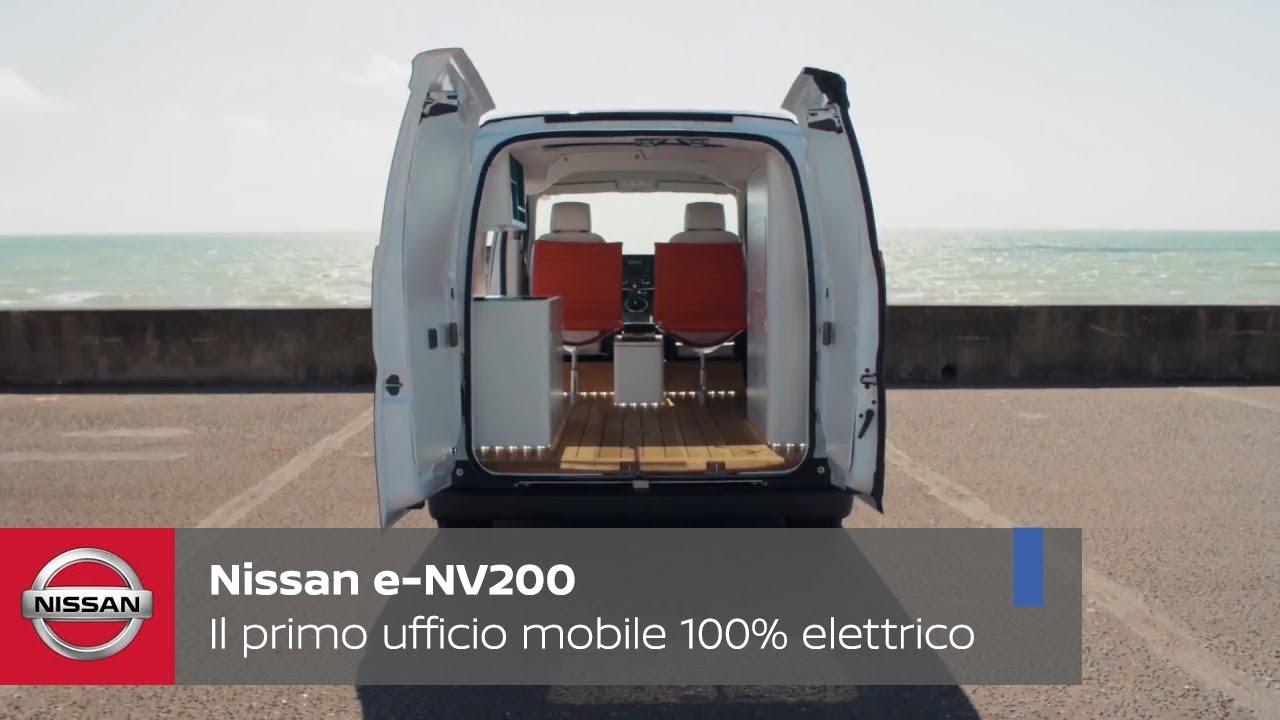 Ufficio Retro Verso : Nissan e nv il primo ufficio mobile elettrico youtube