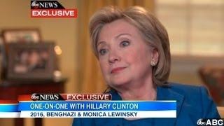 Clinton Says She Was 'Dead Broke' After Leaving White House