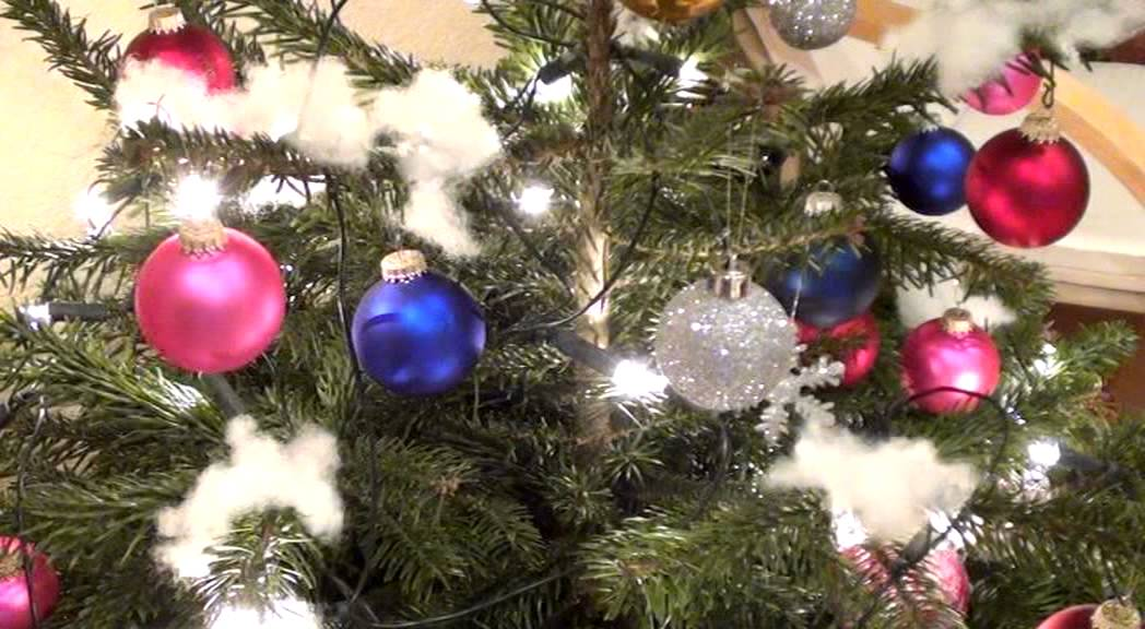 weihnachtsbaum schm cken diy idee youtube. Black Bedroom Furniture Sets. Home Design Ideas