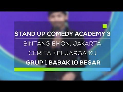 Stand Up Comedy Academy 3 : Bintang Emon, Jakarta - Cerita Keluarga Ku