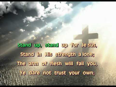 Stand up for jesus lyrics