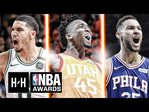 VERY Best Highlights Of Donovan Mitchell, Ben Simmons & Jayson Tatum From The 2017-18 NBA Season!