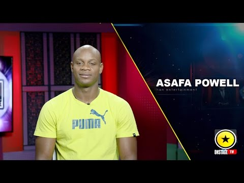 Asafa Powell back to Day Job
