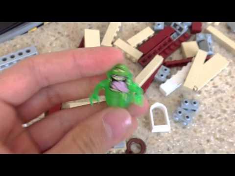 Влог с Доминаткой: Лего Охотники За Привидениями!! (Lego Ghostbusters HQ) 75827